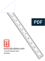 Fraction Ruler