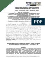 Plantas Medicinais Alta Floresta – Mt