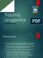 Trauma Urogenital-urologia