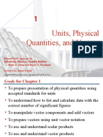 Physical Quantities and Fundamental Units