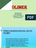 BERAT MOLEKUL POLIMER