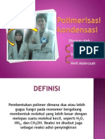Polimerisasi kondensasi