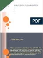 Sejarah Dan Tata Nama Polimer