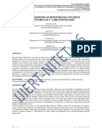 Seismic Response of Reinforced Concrete Concentrically a Braced Frames