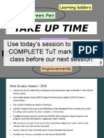 Marking and TUT