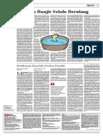 Mediaindonesia.2010.10.14 Opini Lingkungan - Masalah Banjir Selalu Berulang