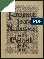 Florence Home Needework 1896