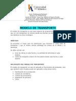 Modelo de Transporte Exposicion