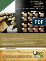 Calendario Catas 2016 17 Copia