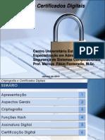 Criptografia e Certificação Digital