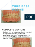 Denture Base Resins
