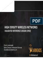 2012 AH Vegas - WLAN Design for High Density