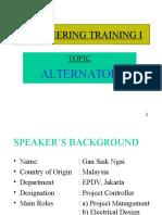 Lecture Alternator