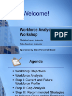 Work Force Analysis Workshop Presentation