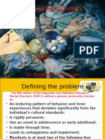 Personality Disorders TAU