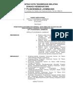 13. 9.2.2. Sk Kapus Tentang Penetapan Dokumen Eksternal
