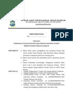 112 2014 SK Kebijakan Tes diagnostik Skrining Pasien.doc
