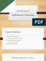 Bpo - Module 2