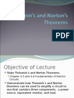 Thevenin Norton