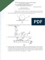 Engineering Mechanics - CE 101