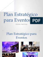 Plan Estrategico Eventos