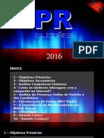 Partido Da República - Eleições Municipais 2016