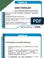 Apresentação Direito Família - Aula 13 Poder Familiar