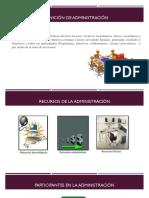 Conceptos y Generalidades de Administración