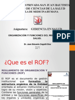Clase de Organizacion Del MINSA Tema 7-1