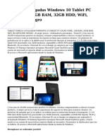 time2® 8 pulgadas windows 10 tablet pc (quad core, 1gb ram, 32gb hdd, wifi, bluetooth) negro.pdf