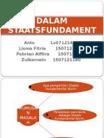 Nilai Pancasila Dalam Staatsfundamentalnorm