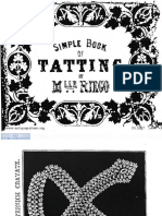 Simple Book of Tatting (1850) - Riego