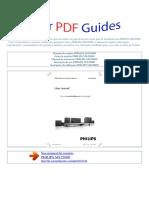 Manual Do Usuário PHILIPS MX2500D P