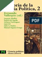 Vallespin, F. - Historia de La Teoría Politica 2