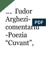Cuvant