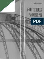 Familierement Inconnues Architecture Paris 1848-1914 Paul Chemetov