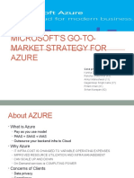 Microsoft's Go-To-market Strategy for Azure