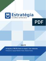 Tribunal Regional Eleitoral de Pernambuco Tecnico Judiciario Area Administrativa Pos Edital Portugue
