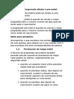 PROGRESSÃO SECUNDÁRIA - continuação