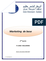 Cours Marketing Base 2016 Partie 3 (S3 Dr. Hind Maleainie)