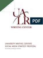social media strategy proposal