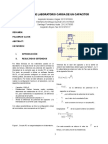 Informe Laboratorio Carga de Un Capacitor