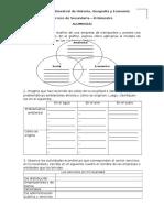 Evaluaciones y prácticas de Ciencias Sociales