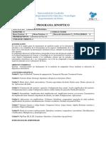 Programa de Laboratorio de Electrónica