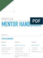 Menticlub Mentor Handbook