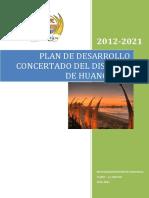 Plan de desarrollo concertado de  Huanchaco Al 2021