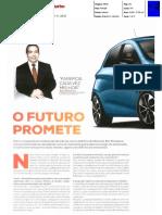 """A RENAULT E OS AUTOMÓVEIS 100% ELÉTRICOS NA """"TURBO"""""""