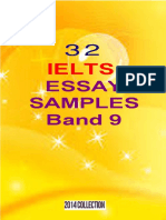 32 Ielts Essay Samples Band 9