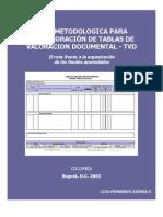 GUÍA METODOLOGICA DE FONDOS ACUMULADOS