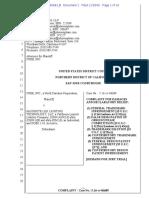 Cree v. Maxbrite - Complaint